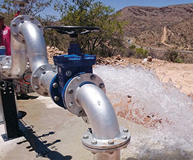 Rockwell Automation drives power emergency borehole pumps in