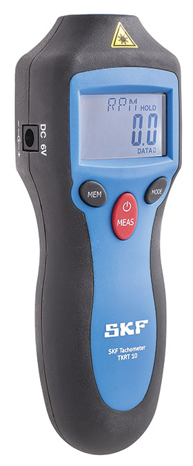 SKF digital tachometer provides accuracy and versatility