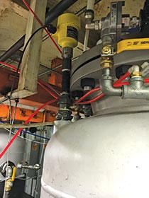 Monitoring the level of molten polyethylene - March 2019 - VEGA