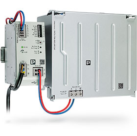 UPS with integrated power supply and USB interface - June