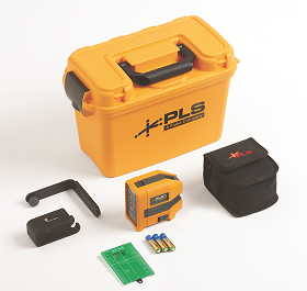 RS introduces red and green laser level tools from Fluke