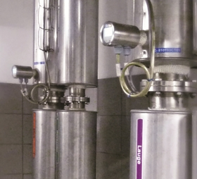 Hygienic limit switches for processes