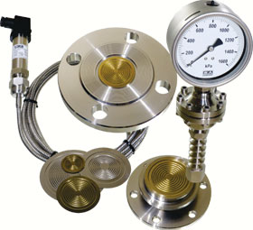 Choosing the correct diaphragm seal for a pressure gauge or ...