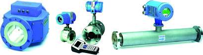 Various Krohne flowmeters